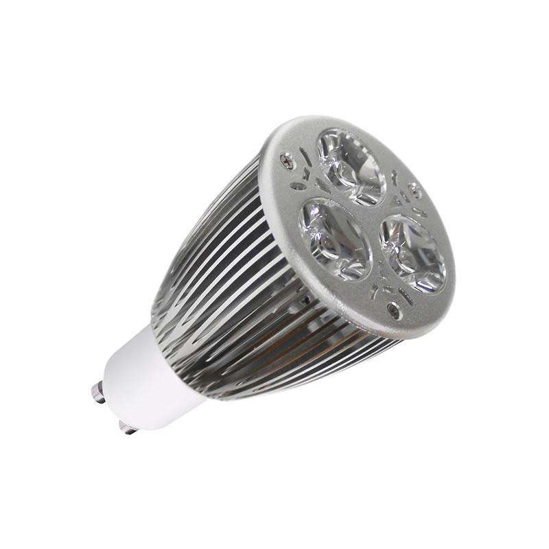 GU10 LED lamp 9W, Dimmable, Cool white, Regulable
